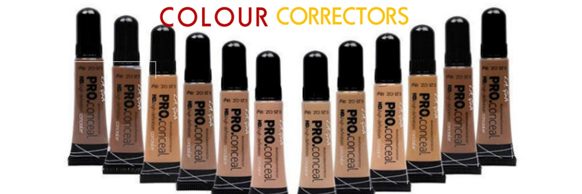 Let's talk correctors: Review of L.A. Girl PRO Conceal HD Concealers
